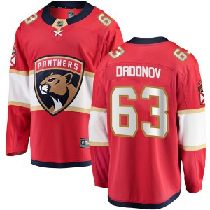 Youth Fanatics Branded Florida Panthers Evgenii Dadonov Red Home Jersey - Breakaway